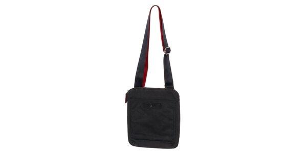 Pánska taška cez rameno v tmavo modrej farbe Tommy Hilfiger