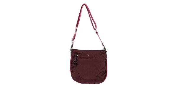 Dámska kabelka cez rameno Tommy Hilfiger - fialová