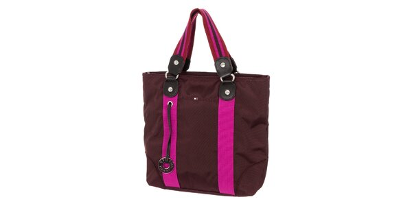 Dámska kabelka Tommy Hilfiger - fialová