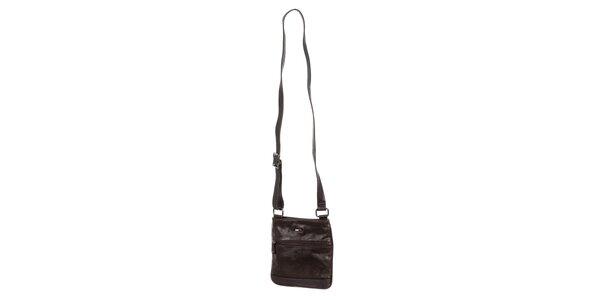Pánska hnedá taška z umelej kože Tommy Hilfiger