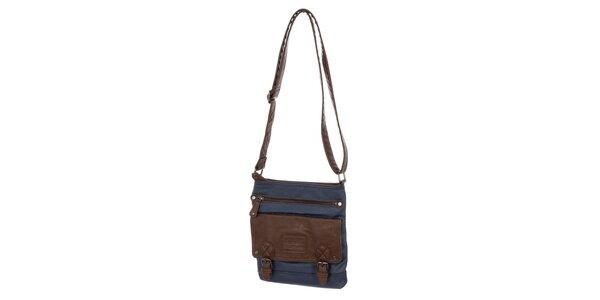 Pánska modrá taška cez rameno Tommy Hilfiger