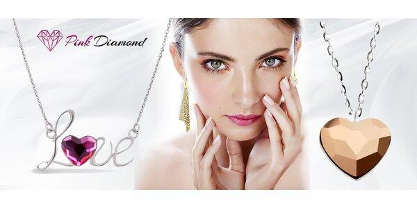 Krásne trblietavé šperky značky Swarovski