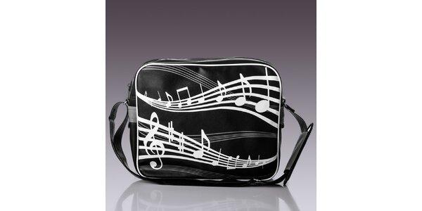 Pánska taška s notami Solier