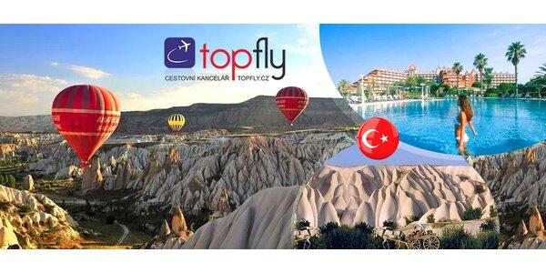 Poznávací zájazd: Kappadokia a Turecká riviéra