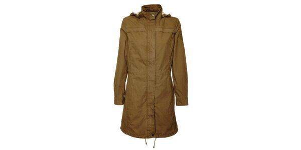 Dámsky hnedý kabátik Bushman