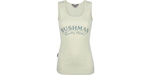 Dámske svetlé tielko Bushman