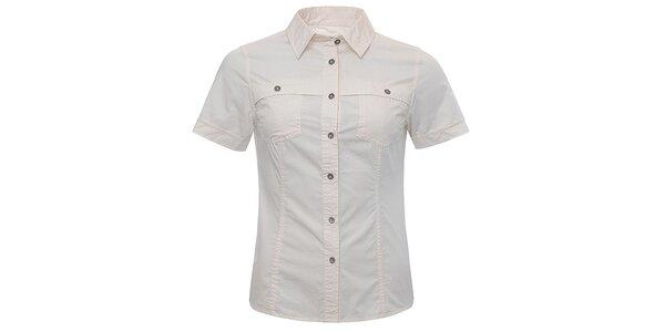 Dámska smotanová košeľa Bushman