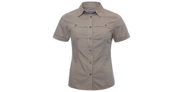 Dámska hnedá košeľa Bushman
