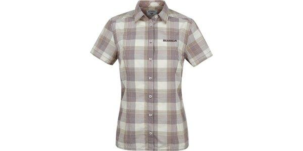 Dámska károvaná košeľa Bushman