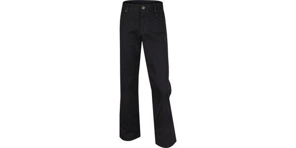 Pánske čierne nohavice Bushman