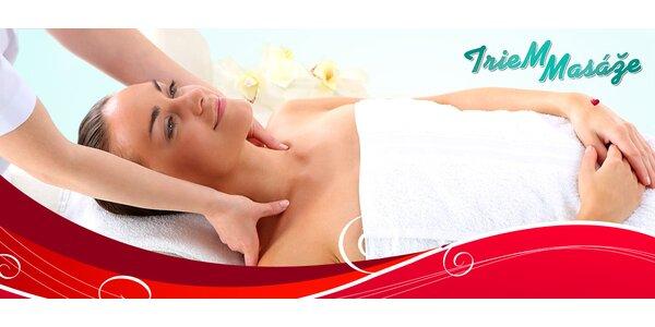 Luxusná relaxačná masáž a celotelová masáž