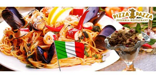 Talianske cestoviny a gaštanové pyré pre dvoch