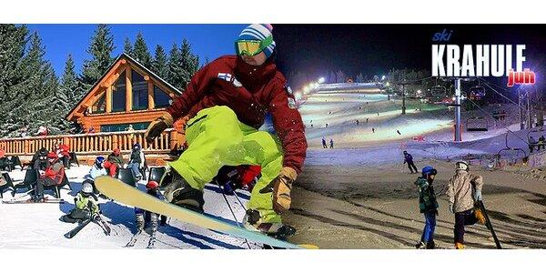 Celodenný či večerný skipas do Ski Krahule