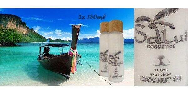 100 % prírodný kokosový olej 150 ml