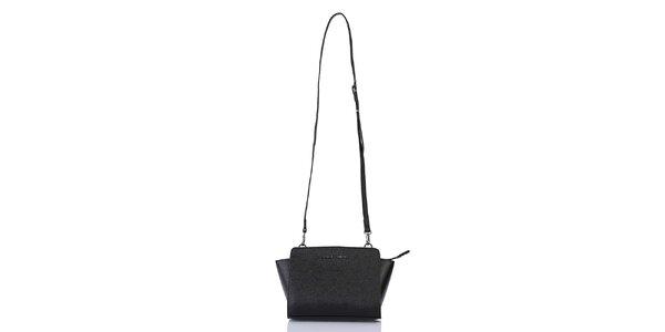 Dámska čierna kabelka na zips Giorgio di Mare