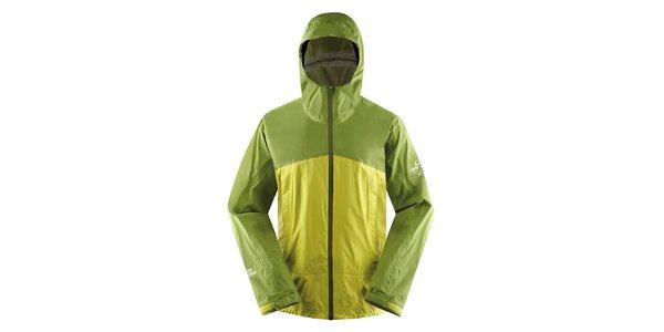Pánska zeleno-žltá ľahká bunda Hannah