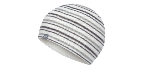 Biela pruhovaná čiapka Hannah