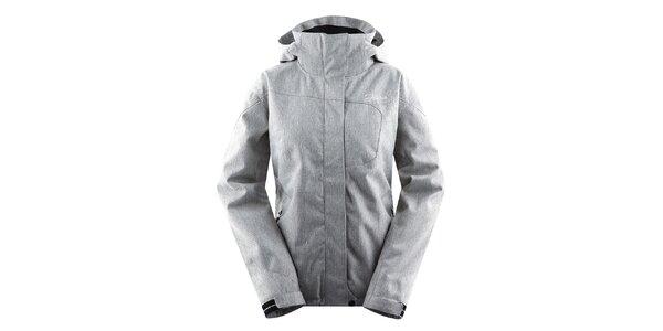 Dámska svetlo šedá zimná bunda Hannah d8c530c16d6
