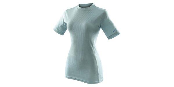 Dámske svetlo modré funkčné tričko s krátkym rukávom Hannah
