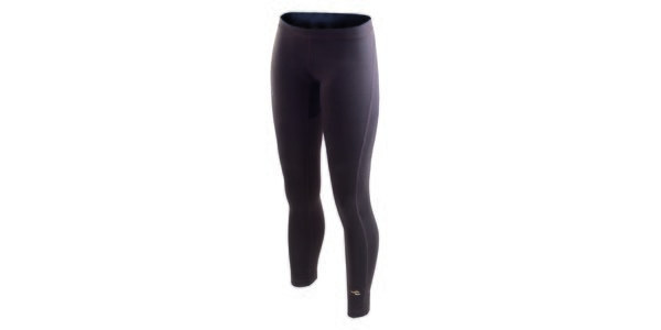 Dámske antracitové funkčné spodné nohavice Hannah