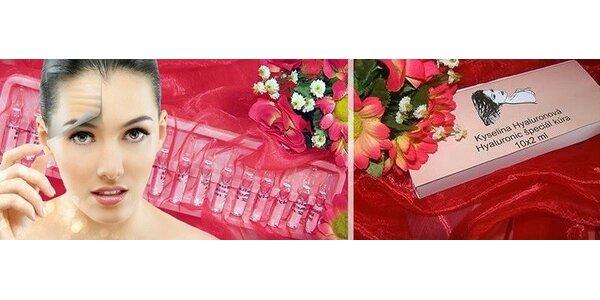 Kráľovná v kozmetike - účinná, profesionálna ampulková kyselina hyaluronová