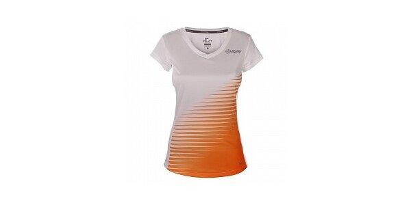 Dámske biele tričko s krátkym rukávom Nike