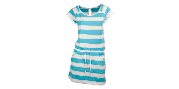 Dámske modro pruhované šaty Fundango