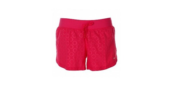 Dámske ružové šortky Nike