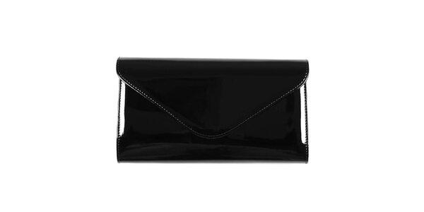 Dámska čierna listová kabelka Felice