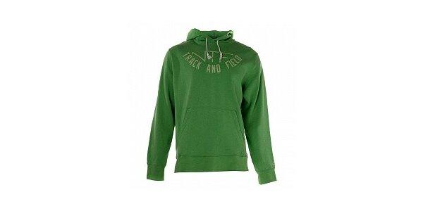 Pánska zelená mikina s nápisom Nike