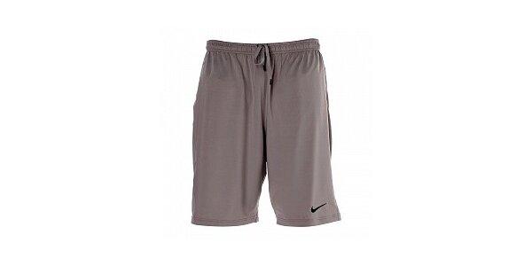 Pánske šedé krátke nohavice Nike
