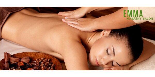 Hodinová celotelová masáž