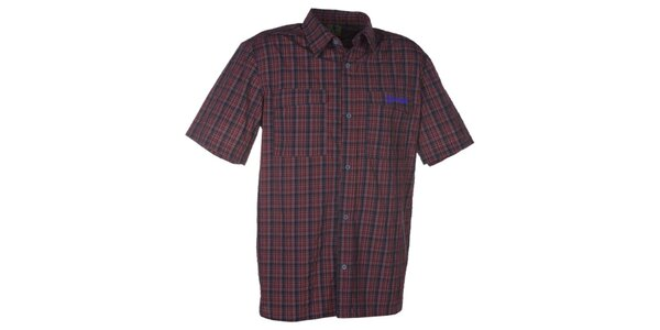 Pánska košeľa s kockovaným vzorom Kilpi