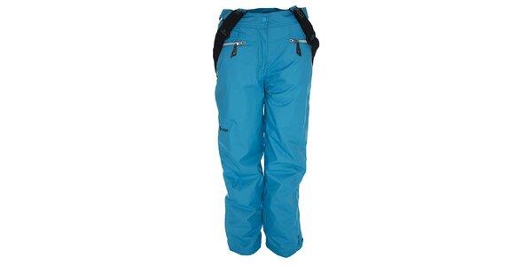 Dámske modré snowboardové nohavice Kilpi