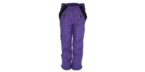 Dámske fialové snowboardové nohavice Kilpi
