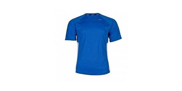 ce6a951a62de Pánske svetlo modré funkčné tričko Nike