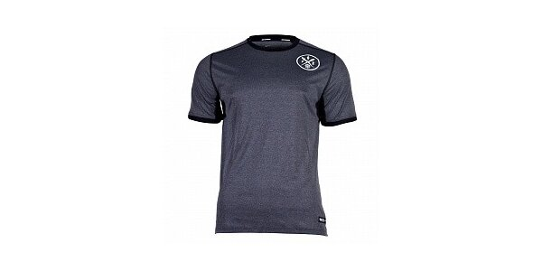 Pánske tmavo šedé funkčné tričko Nike