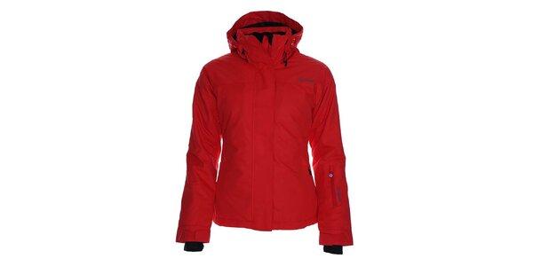 Dámska červená lyžiarska bunda s kapucňou Kilpi