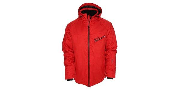 Pánska červená snowboardová bunda Kilpi