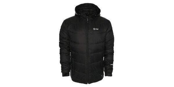 Pánska čierna páperová bunda Kilpi