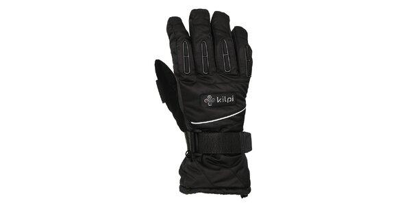 Pánske čierne prstové rukavice Kilpi