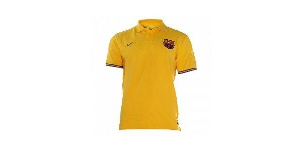 Pánske žlté pólo Nike