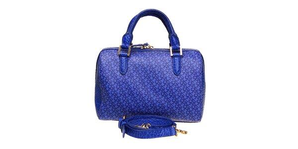 Dámska sýto modrá kabelka DKNY