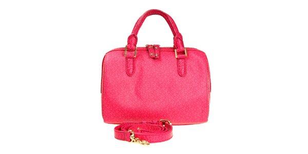 Dámska sýto ružová kabelka DKNY