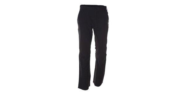 Pánske čierne športové nohavice Kilpi - predĺžená dĺžka