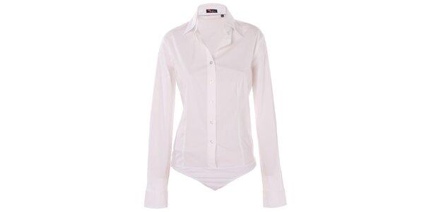 Dámska biela body košeľa 7camicie