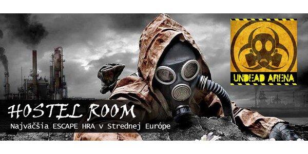 HOSTEL ROOM – najväčšia escape hra v strednej Európe