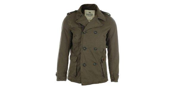 Pánsky hnedý kabátik Timeout