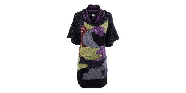 Dámske pletené farebné šaty DY Dislay Design