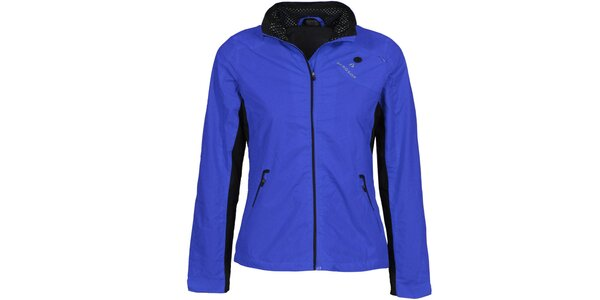 Dámska modrá outdoorová bunda Bergson